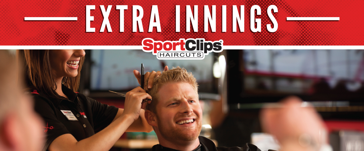 The Sport Clips Haircuts of East Peoria - River Front  Extra Innings Offerings
